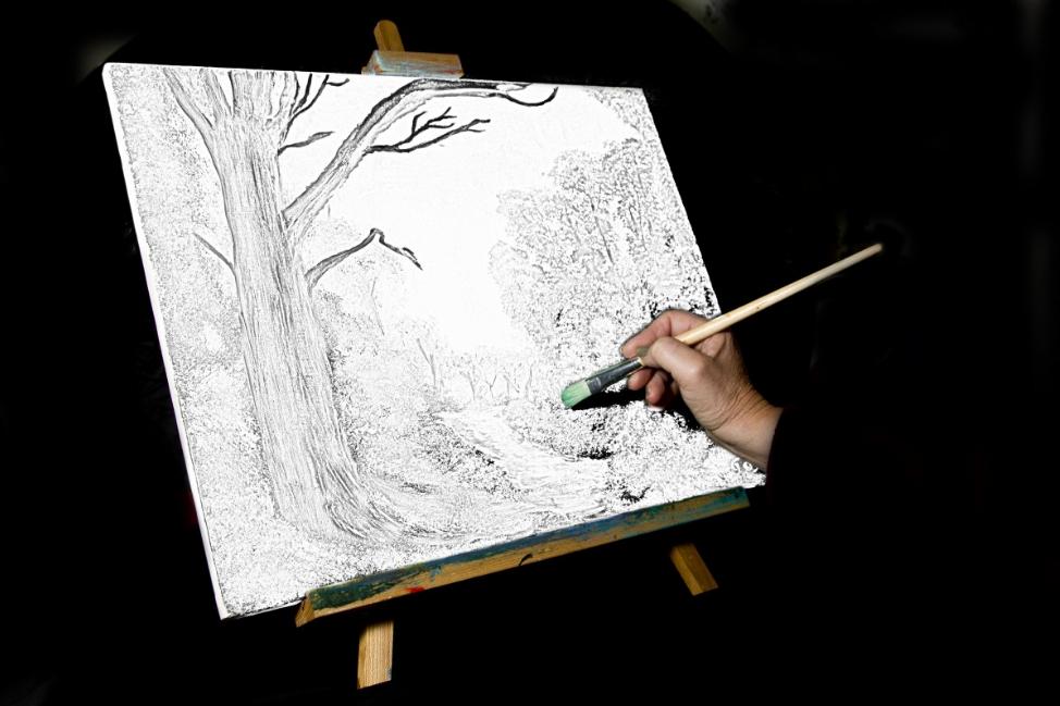 天津美术画画培训机构(画素描的技巧)