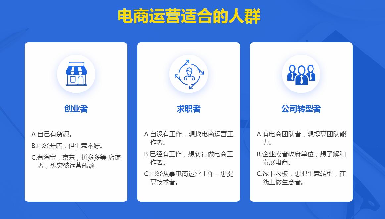 天津武清专业电商运营培训中心(电商是经营观念的转变)